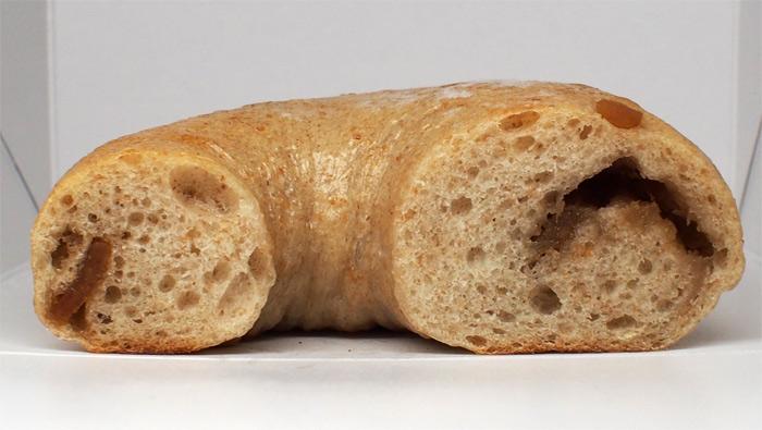 ささのはパン ジンジャーピール&ジャムのベーグル:断面
