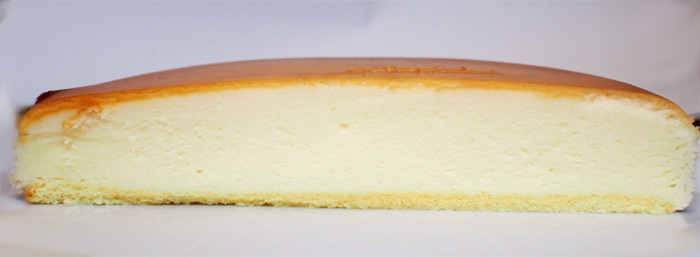チーズガーデン五峰館 御用邸チーズケーキ:断面