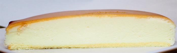 チーズケーキガーデン 御用邸チーズケーキ:断面